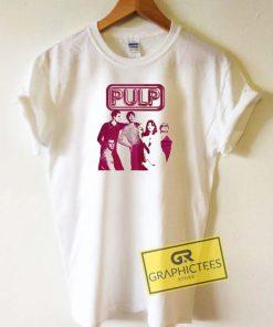 Pulp Band Vintage Tee Shirts