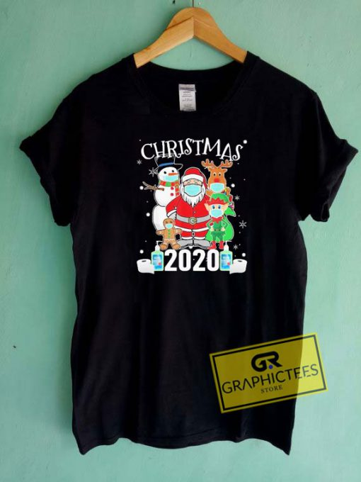 Quarantine Christmas 2020 Tee Shirts
