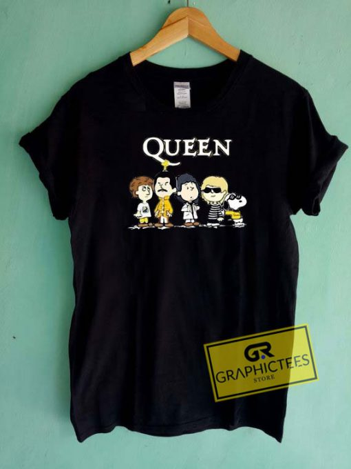 Queen Band Snoopy Tee Shirts