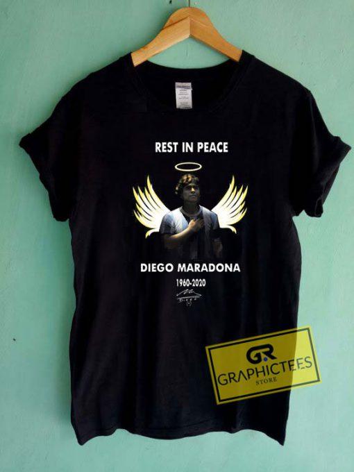 RIP Diego Maradona Angel Tee Shirts