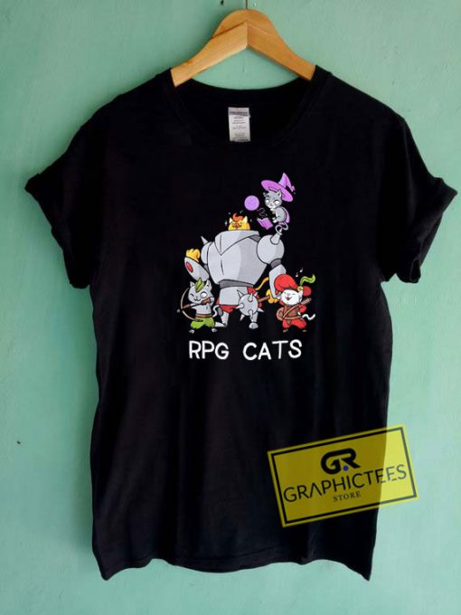 RPG CATS Tee Shirts