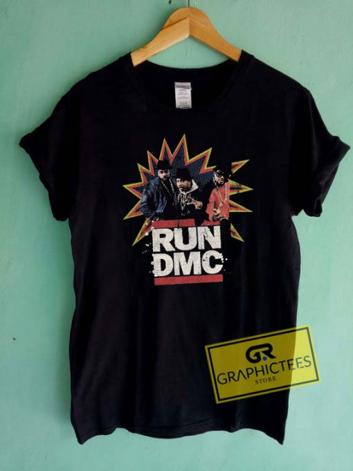 RUN DMC Comic Tee Shirts