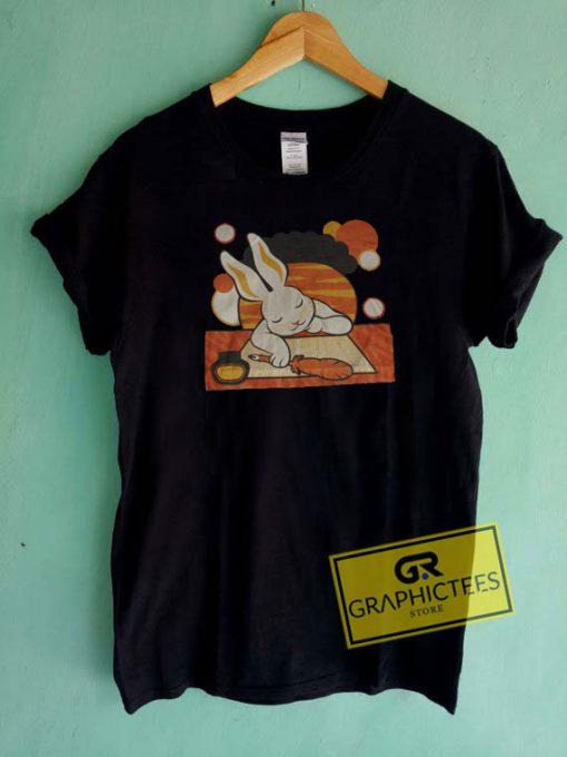 Rabbit Dreaming Tee Shirts