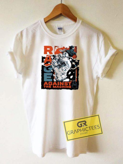 Rage Against The Machine BLM Tee Shirts