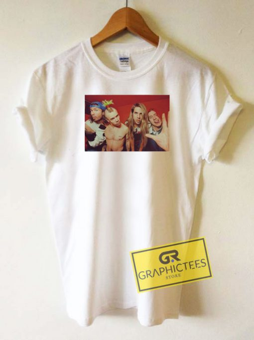 Red Hot Chilli Peppers Photos Tee Shirts