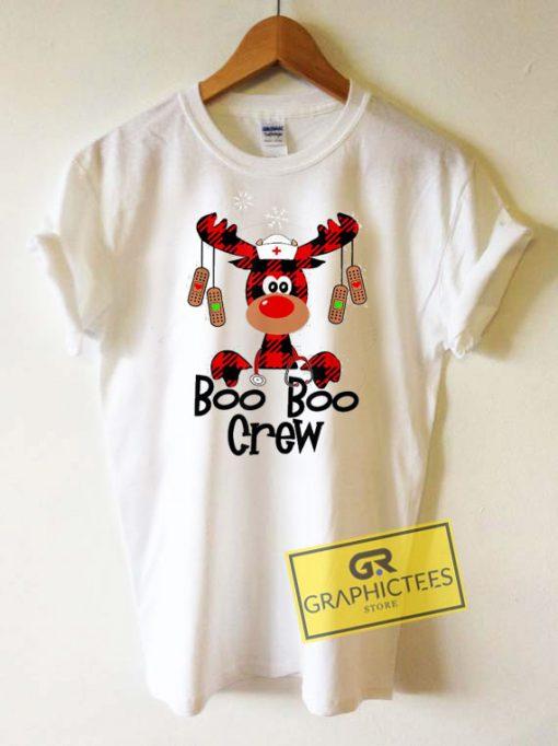 Reindeer Nurse Christmas Tee Shirts