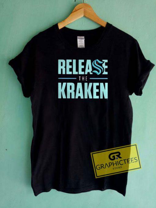 Release The Kraken Tee Shirts