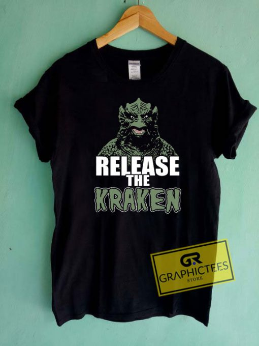 Release The Kraken Art Tee Shirts