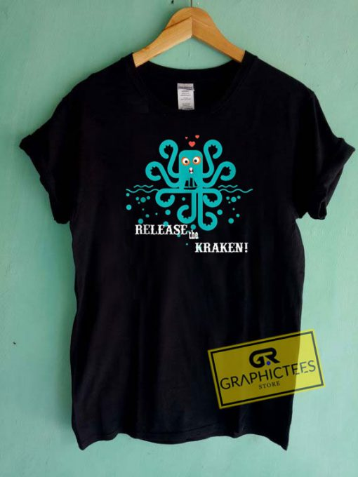 Release The Kraken Cthulhu Tee Shirts