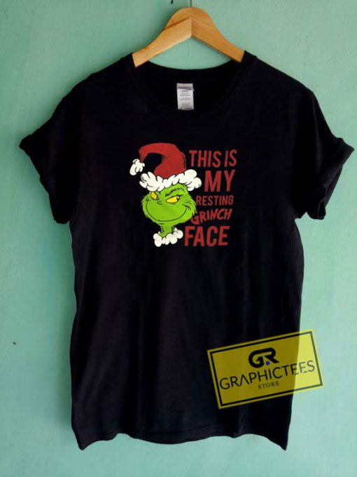 Resting Grinch Face Tee Shirts