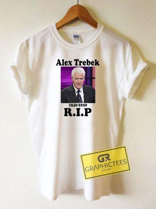 Rip Alex Trebek Tee Shirts