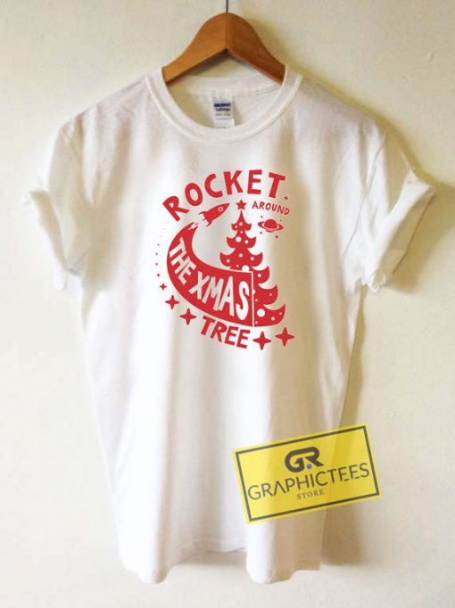 Rocket The Xmas Tree Tee Shirts
