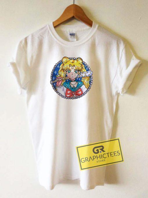 Sailor Moon Cartoon Tee Shirts