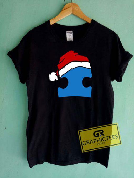 Santa Autism Christmas Tee Shirts