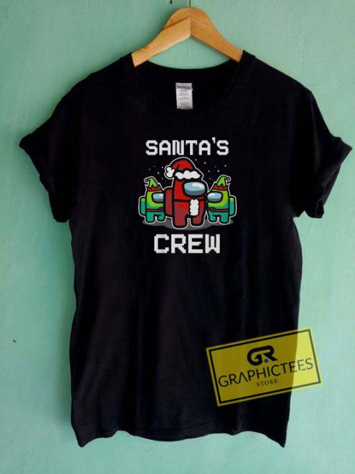 Santas Crew Christmas Tee Shirts