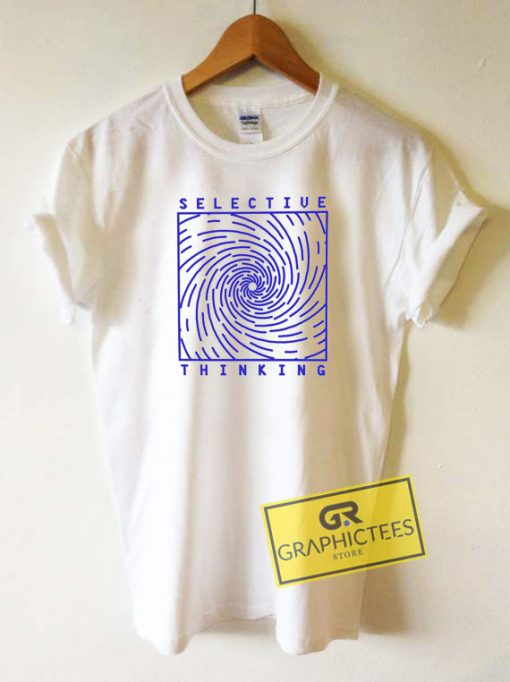 Selective Thinking Outline Tee Shirts