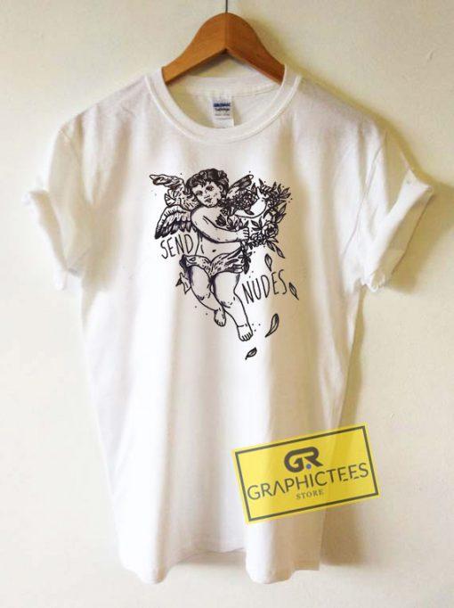 Send Nudes Cupid Tee Shirts