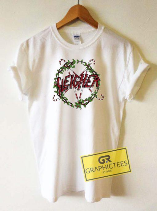 Sleigher Christmas Tee Shirts