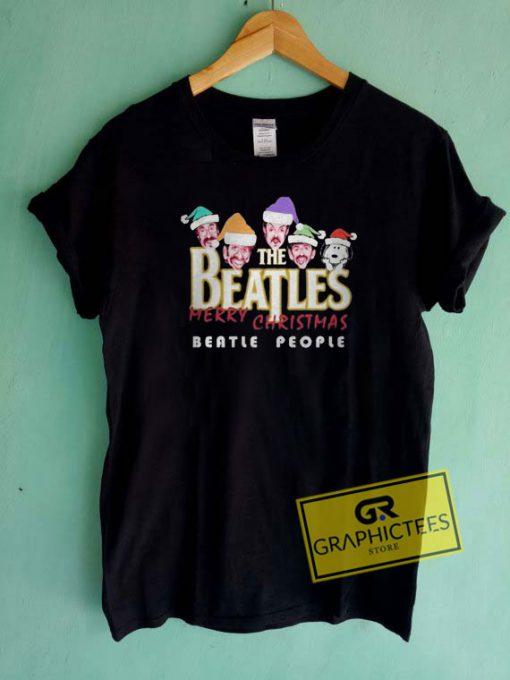 Snoopy The Beatles Christmas Tee Shirts