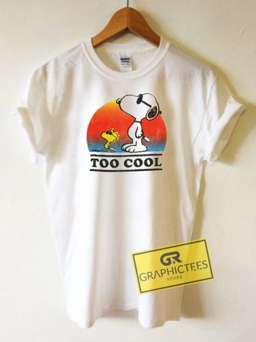 Snoopy To Cool Tee Shirts