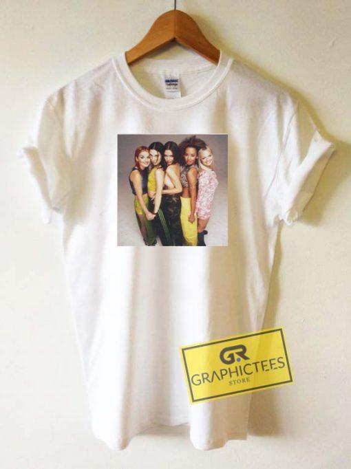 Spice Girls 90s Pop Tee Shirts