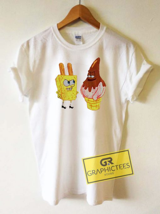 Spongebob Patrick Ice Cream Tee Shirts