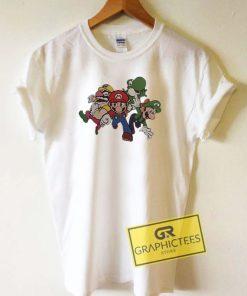 Super Mario Run Away Tee Shirts