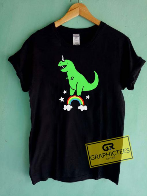 T Rexicorn Graphic Tee Shirts