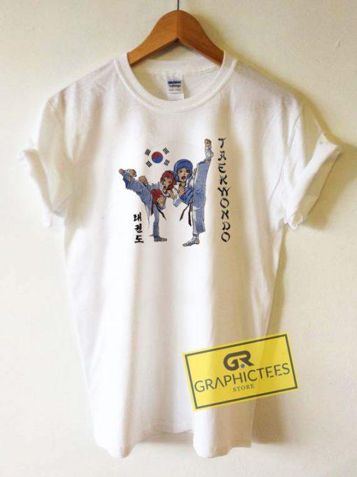Taekwondo Anime Tee Shirts