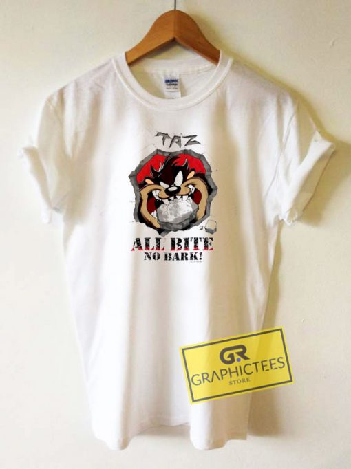 Taz All Bite No Bark Tee Shirts