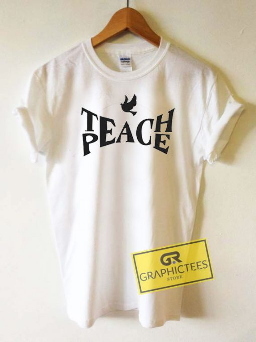 Teach Peach Dove Tee Shirts