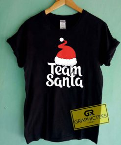 Team Santa Christmas Tee Shirts