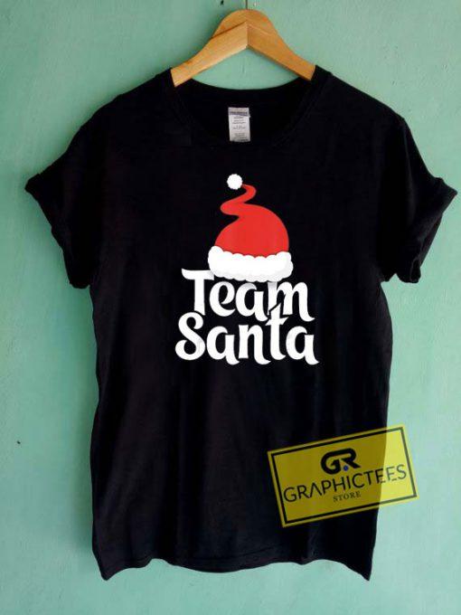 Team Santa Christmas Tee Shirts