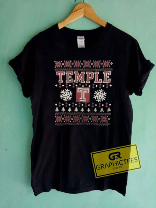 Temple Christmas Tee Shirts