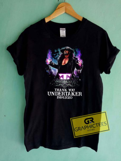Thank You Undertaker Tee Shirts