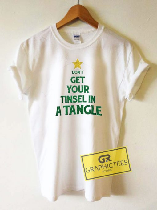 Tinsel In A Tangle Christmas Tee Shirts