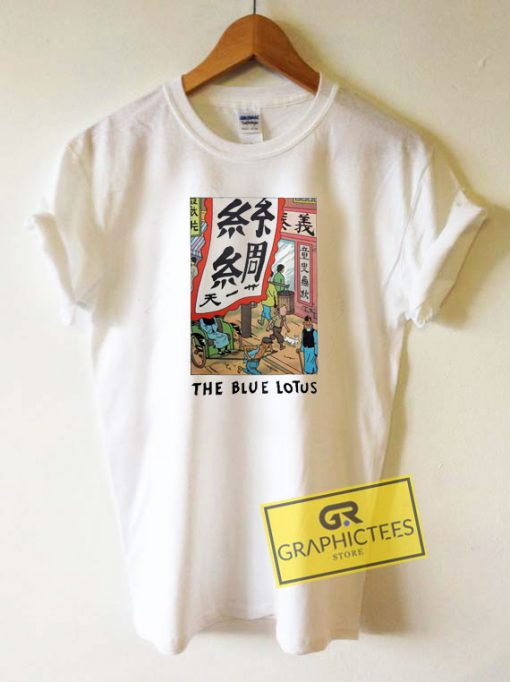 Tintin the Blue Lotus Tee Shirts