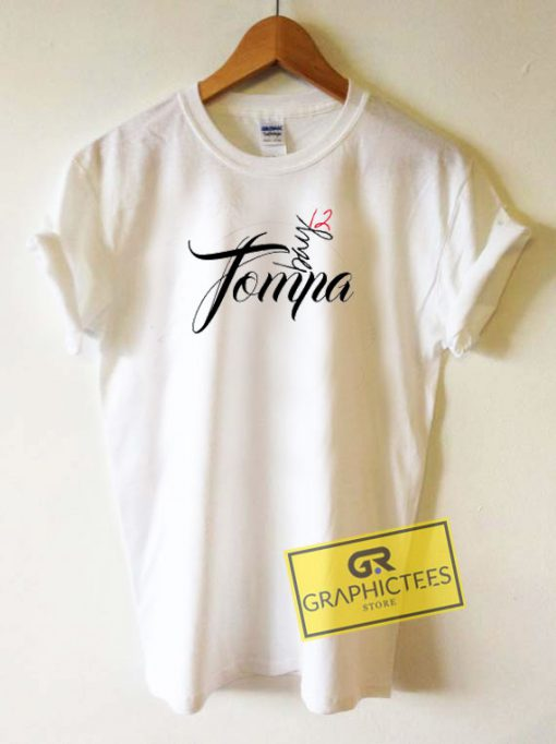 Tompa Bay Letter Tee Shirts