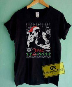 Tupac Hip Hop Christmas Tee Shirts