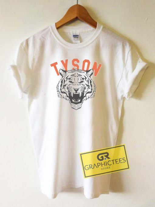 Tyson Tiger Graphic Tee Shirts