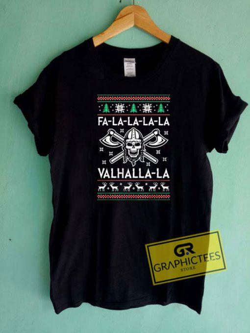 Valhalla La Skull Christmas Tee Shirts