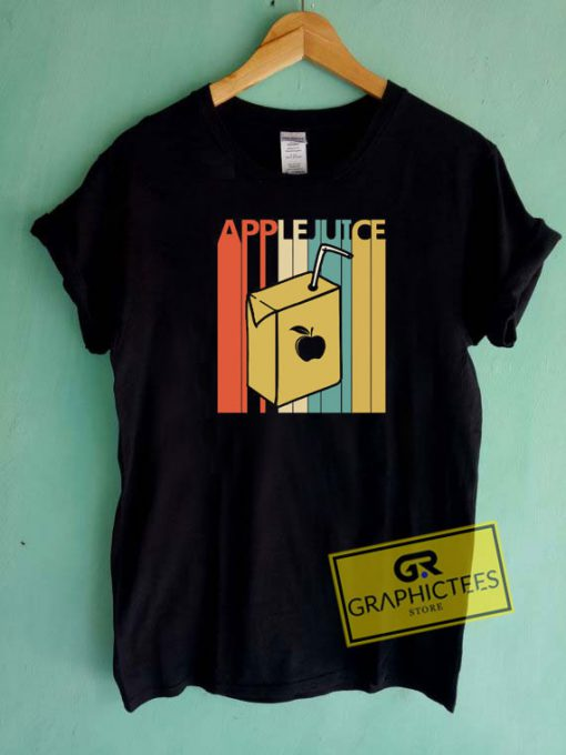 Vintage Apple Juice Tee Shirts