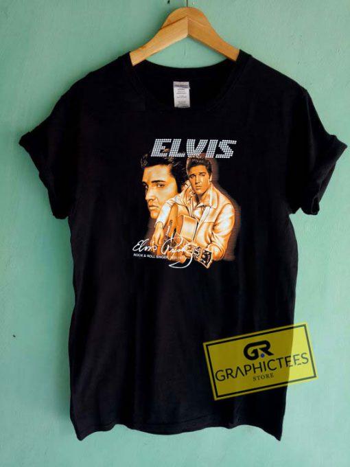 Vintage Elvis Presley Memorial Tee Shirts