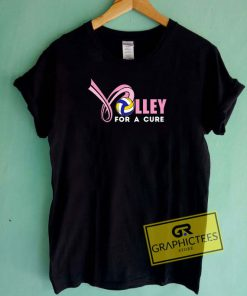 Volley For A Cure Tee Shirts