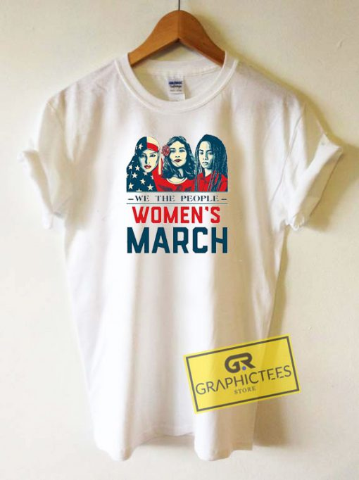 We The People Womens March Tee Shirts