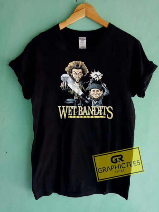 Wet Bandits Crowbars Up Tee Shirts