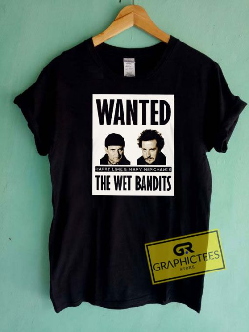 Wet Bandits Wanted Tee Shirts