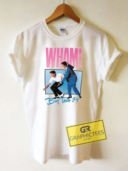 Wham Big Tour Tee Shirts