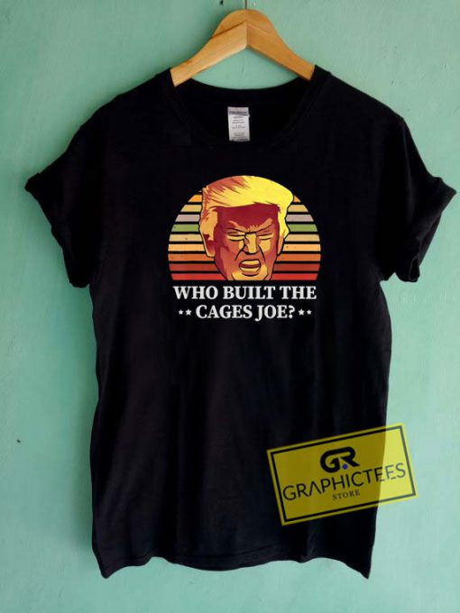 Who Built The Cages Joe Retro Tee Shirts