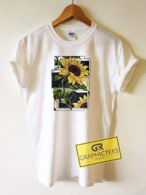 Windows Sunflower Tee Shirts
